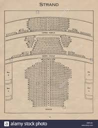Novello Theatre Seating Chart Strand Now The Novello Theatre Vintage Seating Plan
