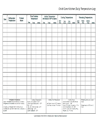 Child Care Temperature Chart 16 Memorable Fever Chart Template
