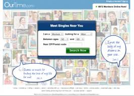 OurTime com website Dating Sites Reviews   Best Reviews