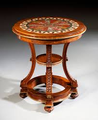 top furniture makers.  top mid 19th century walnut marbletop specimen table attributable to the royal furniture  makers holland u0026 sons with top furniture makers f