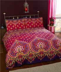 ethnic duvet sets boho bedding moroccan quilt covers