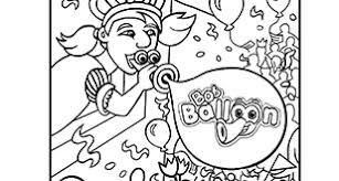 Kleurplaat Bob Balloon Pressman Toy Pressman Toy
