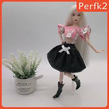 Set 2 Món Đồ Thời Trang Cho Búp Bê Barbie