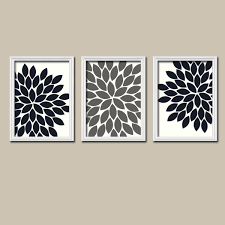 wall art ideas design bathroom flowers decorate black white wall art faves two pieces sets manufacturing beautiful creating contemporary black white wall