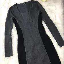 Theory Wool Freida Illusion Sheath Mini Dress P Tp