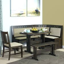 Bench Breakfast Nook This Breakfast Nook Unit Includes The Wood Table 2 Dining Benches