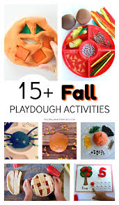 Fall Lesson Plans For Toddlers 15 Fun Fall Playdough Ideas For Kids