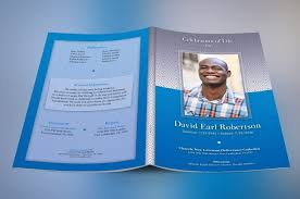 How To Make A Funeral Program Obituary Templates Over 40 Printable Funeral Programs