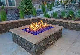 how to build a natural gas fire pit for