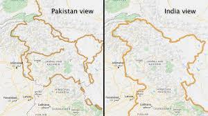 For drawing line, you hav. Crimea Kashmir Korea Google Redraws Disputed Borders Depending On Who S Looking The Washington Post