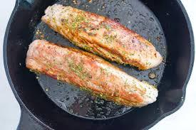 30 minute roasted pork tenderloin