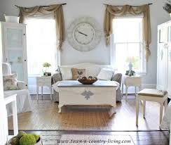 country cottage style living room. Cottage Style Farmhouse Family Room Via Town And Country Living