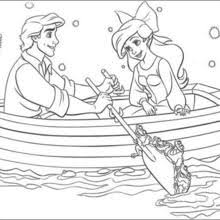 Small Picture Ariel and king triton coloring pages Hellokidscom