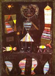 puppet theater painting paul klee puppet theater art painting
