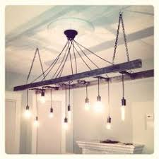 Image Outdoor Finished Edison Chandelier Very Reclaimed And Industrial Light Fixture Turned Out Perfect Old Pinterest 64 Best Edison Bulbs Images Future House Wedding Ideas