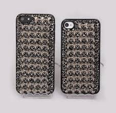 name rivet bling crystal rhinestone diy cell phone case shell cover deco den kit