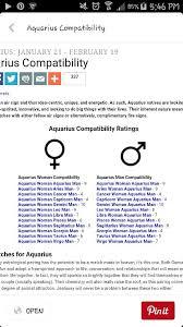 Libra And Cancer Compatibility Chart Aquarius Man Compatibility Chart Www Bedowntowndaytona Com