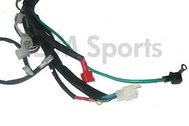 mini pocket bike x18 x19 internal wiring wire harness 50cc 110cc parts this is the internal wiring for the x 18