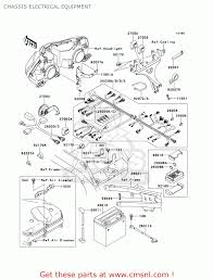 kawasaki zx900f1 ninja zx9r 2002 usa california chassis chassis electrical equipment schematic