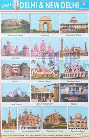 Visit To Delhi New Delhi Chart Number 200 Minikids In