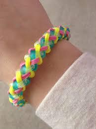 Mini Loom Designs Rainbow Loom Braided Bracelet Super Easy Rainbow Loom