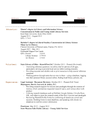 Resumes Library Resume Hiring Librarians Unnamed Job Hunter Page For