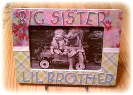 sister picture frame items similar to big sister little brother or big brother little for big sister picture frame