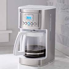 Choose from contactless same day delivery, drive up and more. Cuisinart Perfecttemp 14 Cup Programmable Coffeemaker White Reviews Crate And Barrel