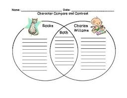 Venn Diagram Character Comparison Socks By Beverly Cleary Compare And Contrast Characters Sonlight