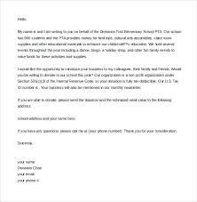 Solicitation Latter Fundraising Solicitation Letter Template In Sample Donation