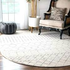 oval braided rugs 7x9 geometric beads grey rug