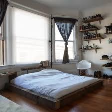 bedroom floating wall shelves