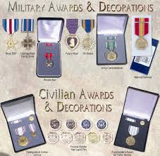 awards and decorations