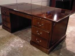 Nice Desks very nice wood desk and credenza | inyouroffice