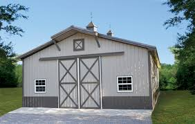 pole barn metal siding. Taupe Barn Pole Metal Siding