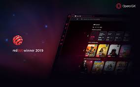 Opera GX wins Red Dot Award in Berlin - find out more about the design  philosophy behind the world's first gaming browser - Blog