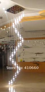 new modern 25 crystal pendant ceiling light lamp lighting fixture chandelier stairwaypathlights wireless led stair lights