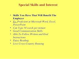 Hobby And Interest In Resume Resume Personal Interests Hobbies Interest Ideas Socialum Co