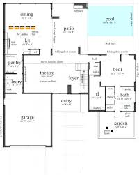house plans with pool in middle cool architecture houses