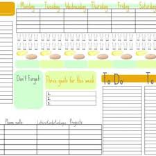 week at a glance calendar this week a free weekly planner printable biblical homemaking