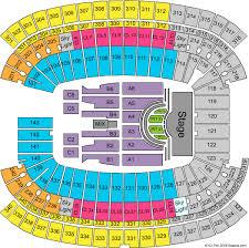 Stadium Concert Seating Gillette Stadium Seating Chart