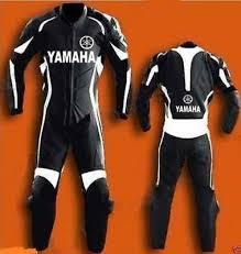 Yamaha Black Suit Motorbike 2018 Leather Racing Suit Ebay