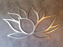 ... Outdoor Furnitures Pinterest Shining Adorable Waterlily Flowers Shining  Home Decor Metal Wall Art Silver Electric Sculptures ...