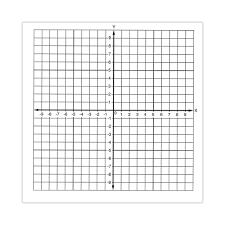 Graph Paper Stickers Number Axis Numbered 10 To 10 Roll Of 500