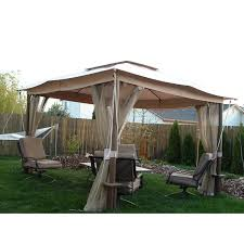 Fred Meyer 10 x 12 Two Tiered Gazebo Garden Winds