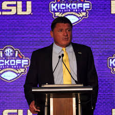 One Last Guess At Lsus Week One Depth Chart And The