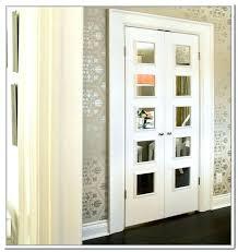 mirrored french closet doors. Modren Doors Mirrored French Doors Interior Wood 1 Panel Closet  The Home Throughout On Mirrored French Closet Doors H