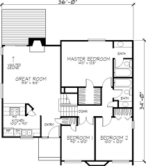 Modern Story House Floor Plan Residential Storey House Plan    Modern Story House Floor Plan Residential Storey House Plan