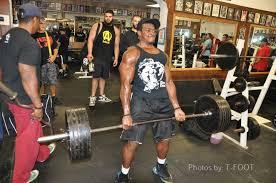 photo of diamond gym maplewood nj united states lloyd porter getting it