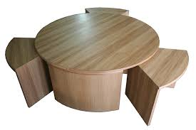 circular furniture. circular table nest in oak furniture a